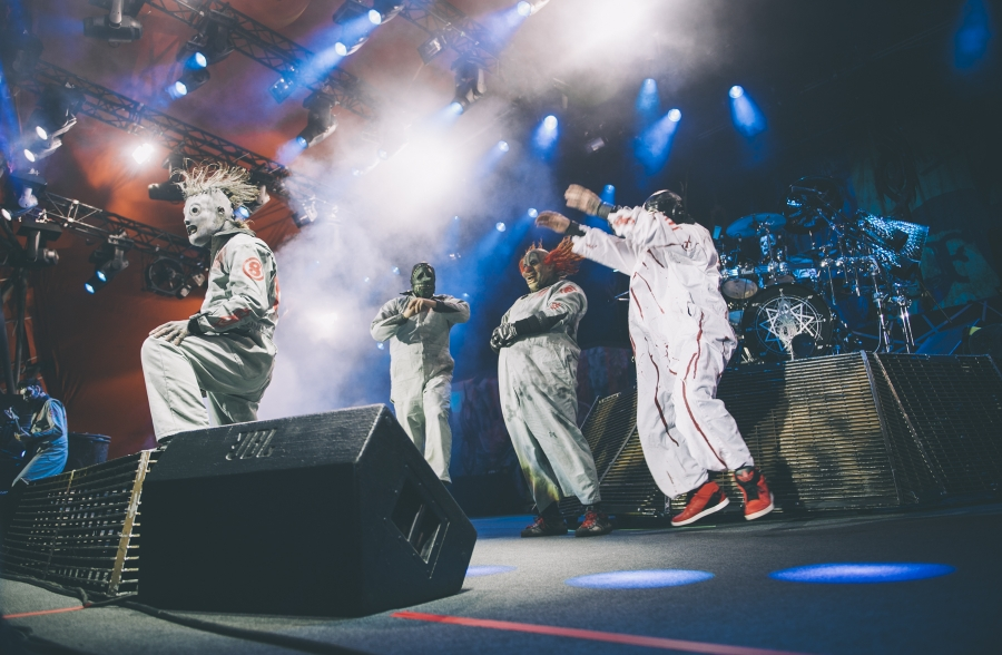 Slipknot (Photo by Tom Spray)