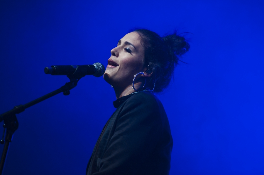 Jessie Ware, Pitchfork Music Festival 2012 (Photo by Tom Spray)