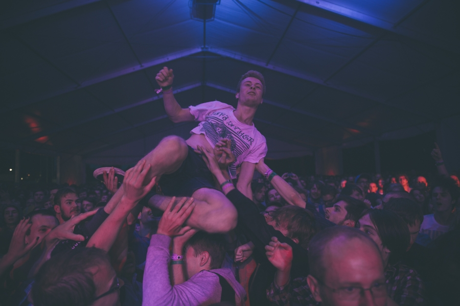 Thee Oh Sees, OFF Festival (Photo by Tom Spray)