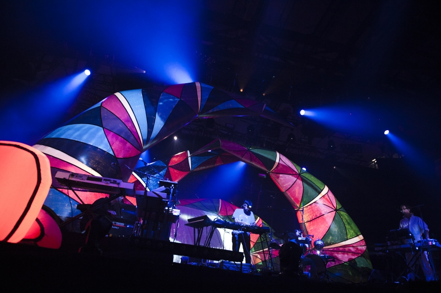 Animal Collective, Pitchfork Music Festival 2012 (Photo by Tom Spray)