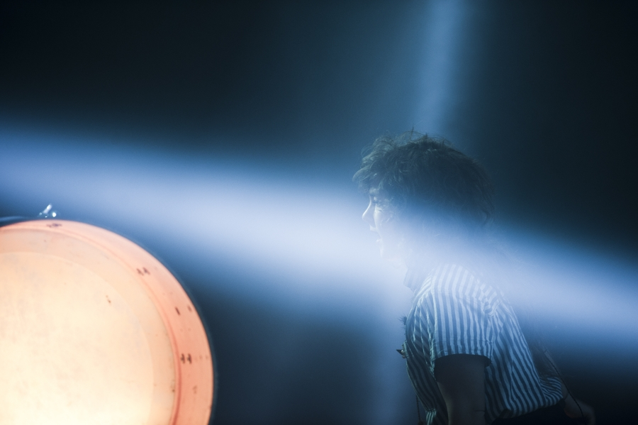 Purity Ring, Pitchfork Music Festival 2012 (Photo by Tom Spray)