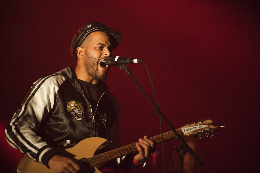 Twin Shadow, Pitchfork Music Festival 2012 (Photo by Tom Spray)