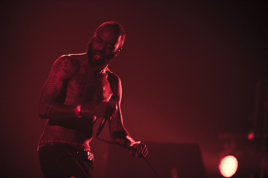Death Grips, Pitchfork Music Festival 2012 (Photo by Tom Spray)