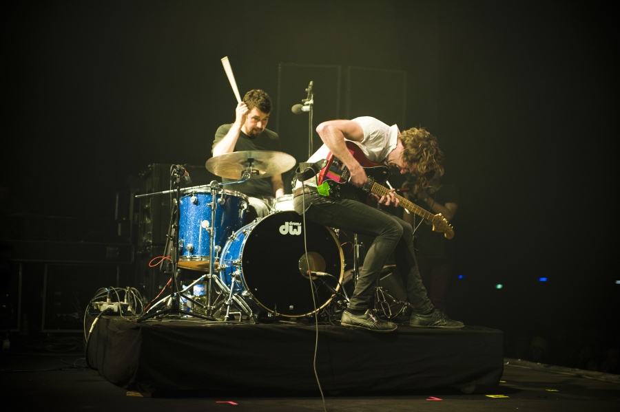 Japandroids, Pitchfork Music Festival 2012 (Photo by Tom Spray)