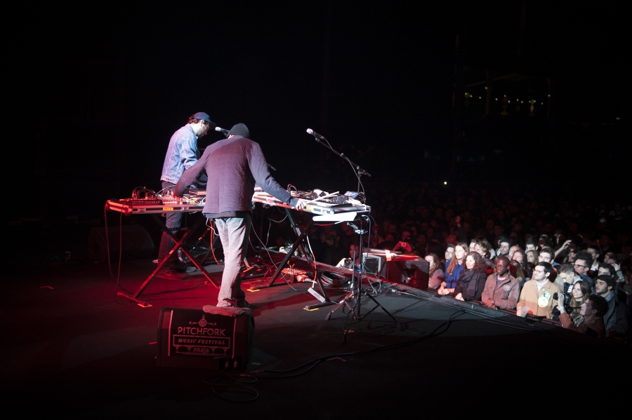 John Talabot, Pitchfork Music Festival 2012 (Photo by Tom Spray)