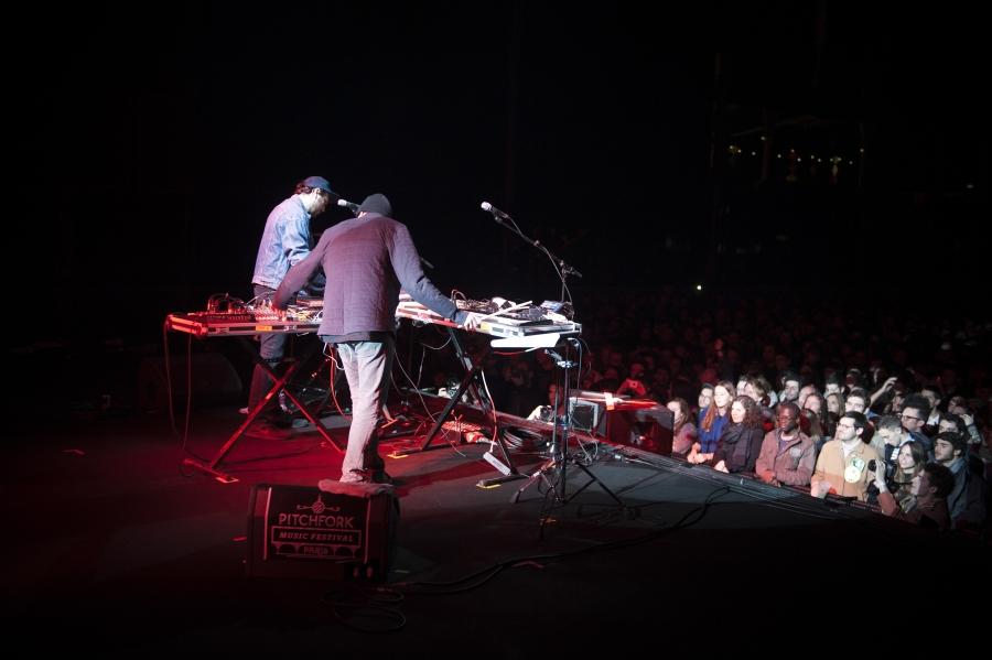 John Talabot, Pitchfork Music Festival 2012 (Photo by Tom Spray)
