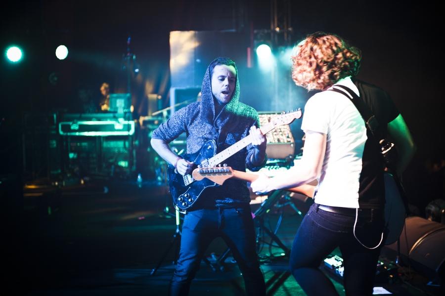 M83, Pitchfork Music Festival 2012 (Photo by Tom Spray)