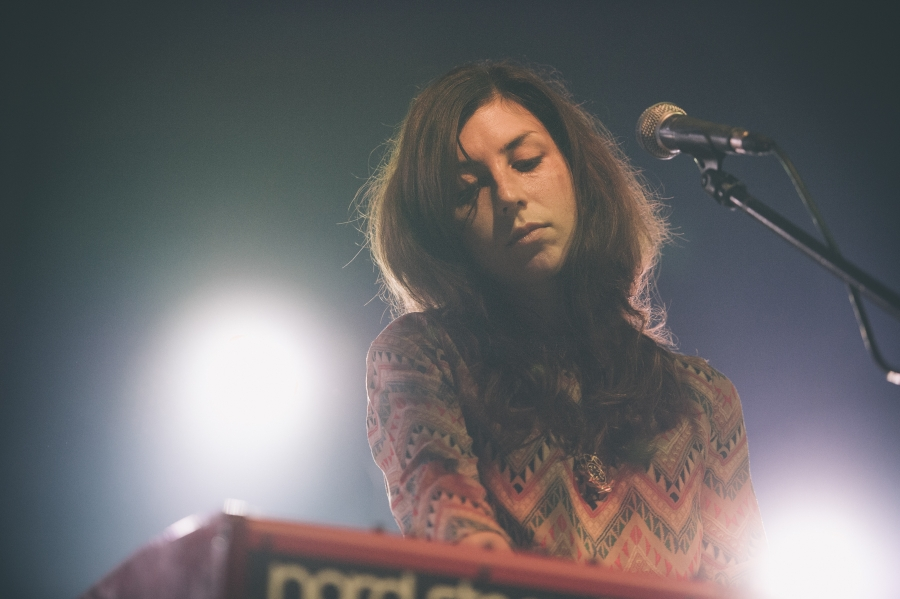 Julia Holter, OFF Festival (Photo by Tom Spray)