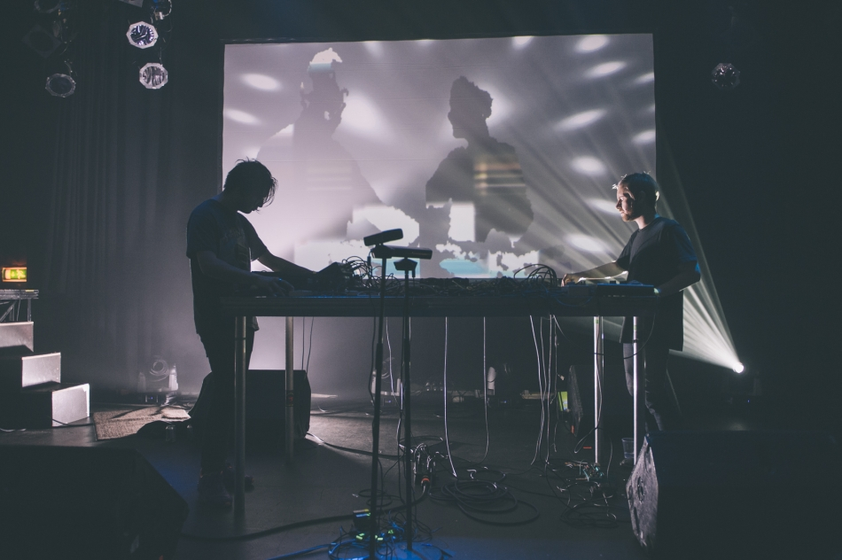 Fuck Buttons (Photo by Tom Spray)