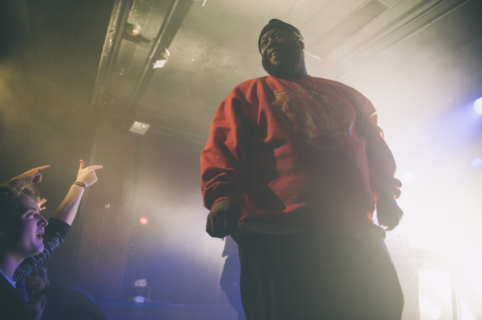 EL-P and Killer Mike (Photo by Tom Spray)