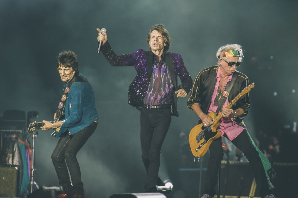 The Rolling Stones (Photo by Tom Spray)