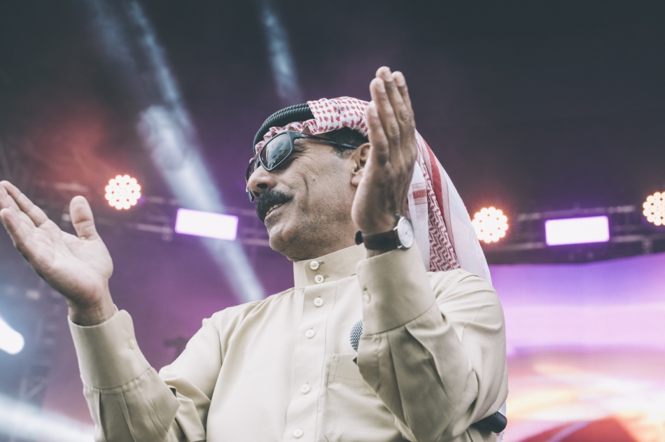 Omar Souleyman (Photo by Tom Spray)