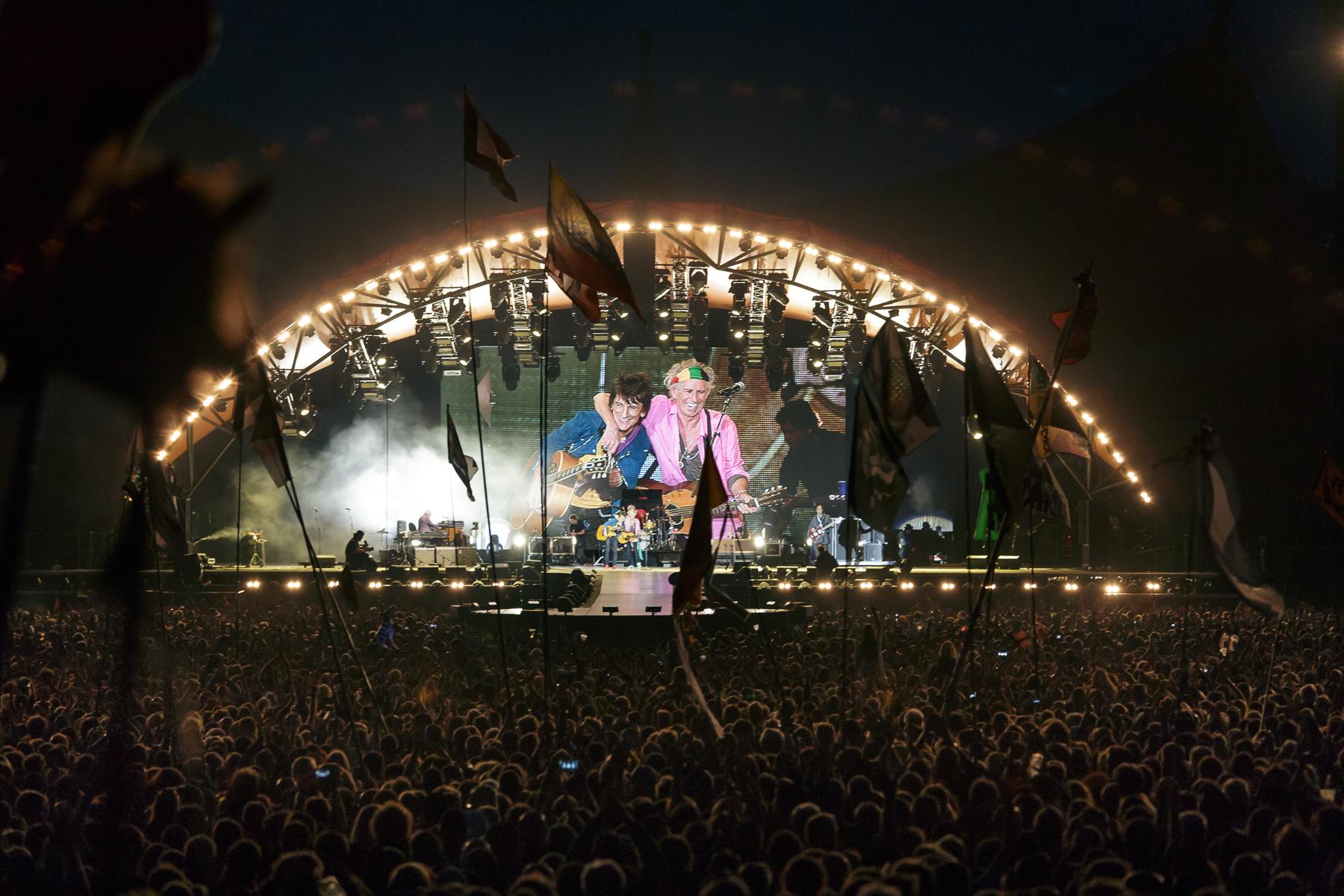 The Rolling Stones (Photo by Morten Aagaard Krogh)