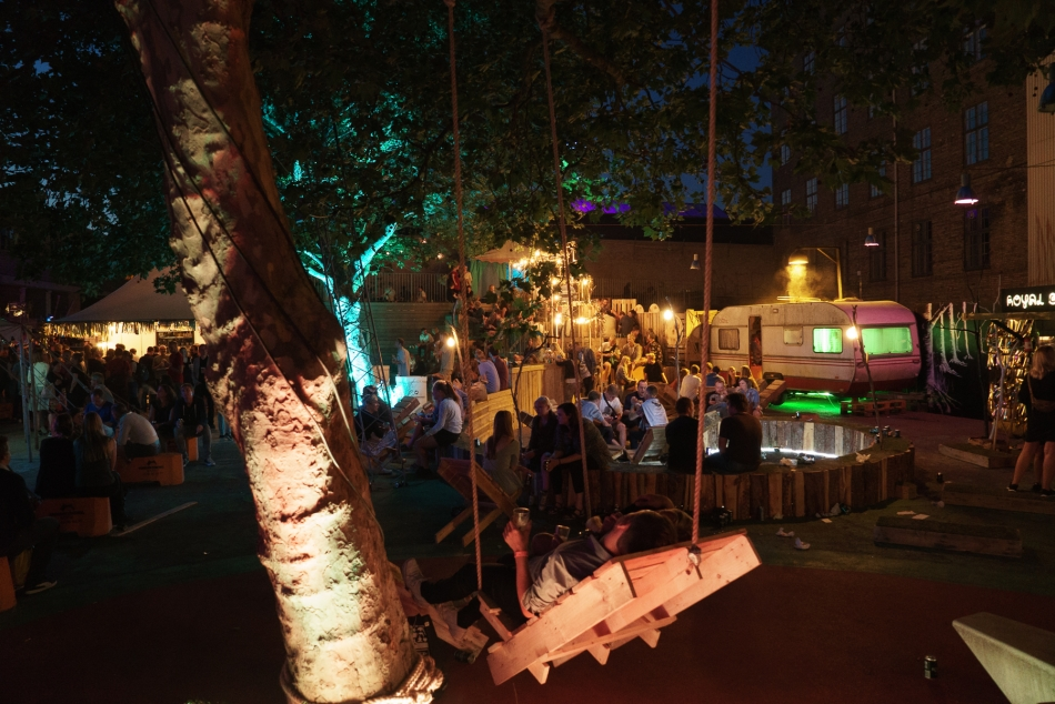 Trailerpark Festival ambience