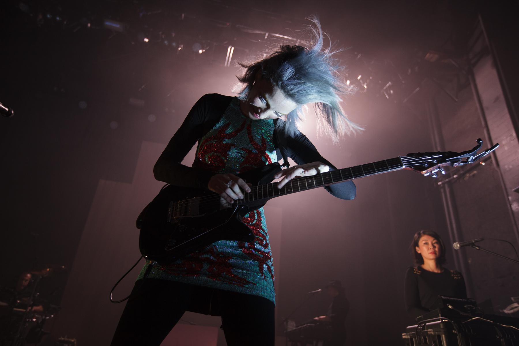 St. Vincent live at Vega, Copenhagen, 2014 (photo: Morten Aagaard Krogh)