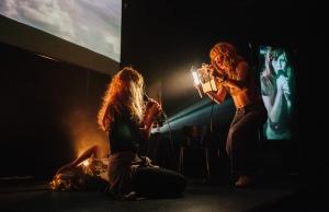 Jenny Hval live at Jazzhouse, Copenhagen 2015