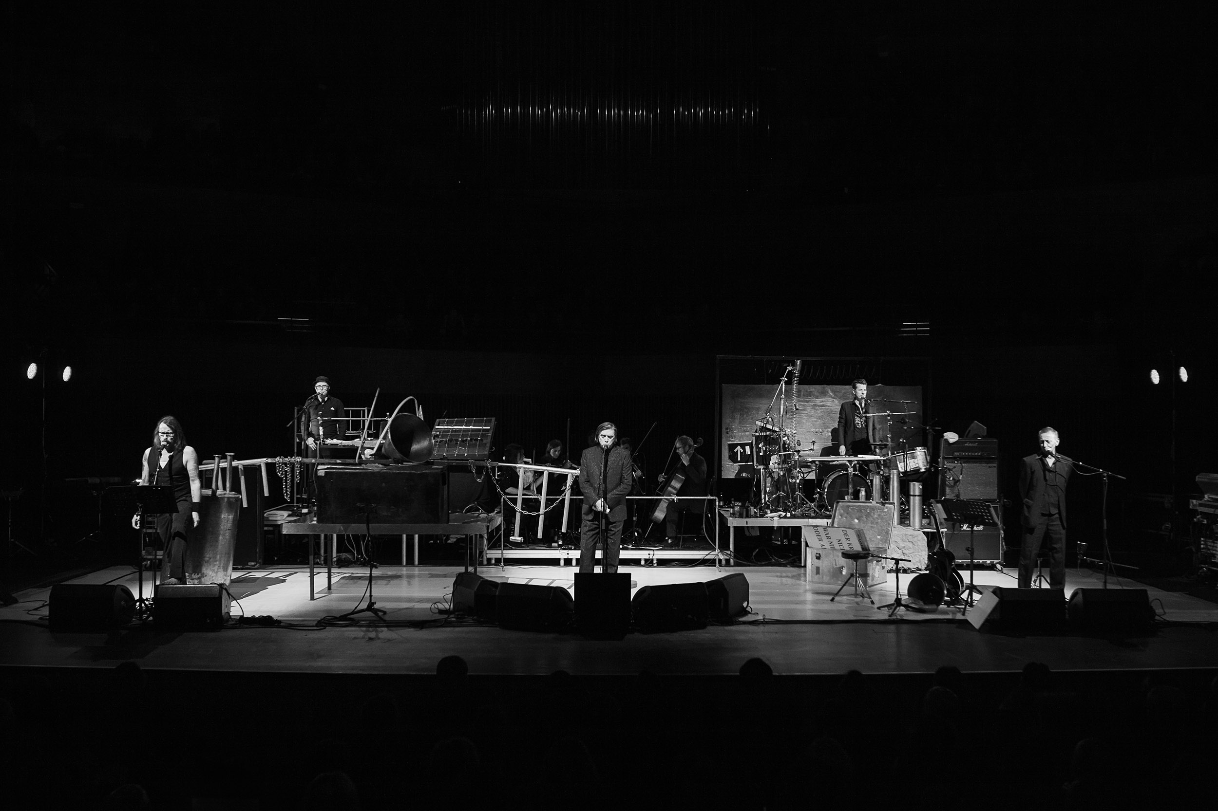 Einstürzende Neubauten (photo by Morten Aagaard Krogh / mortenkrogh.com)