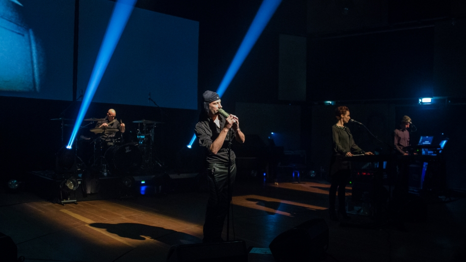 Laibach photo by Johannes Leszinski