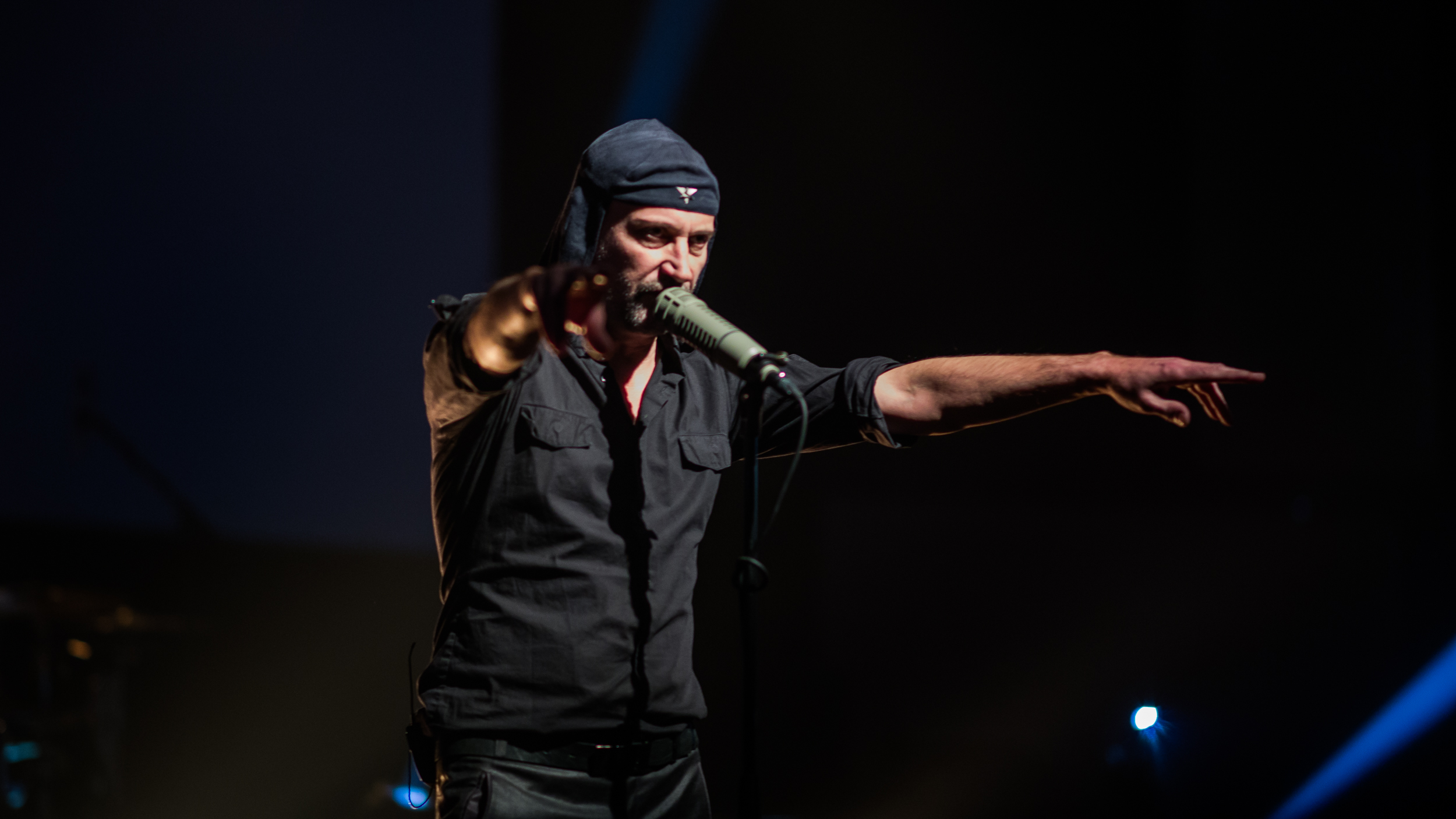 Laibach (photo by Johannes Leszinski)