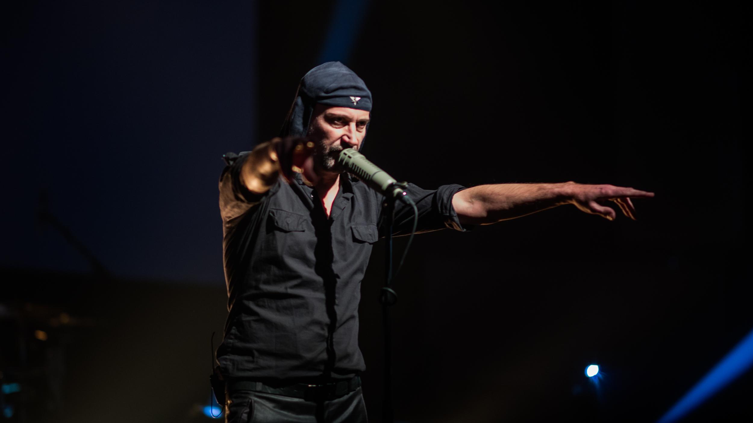 Laibach (photo by Johannes Leszinski)