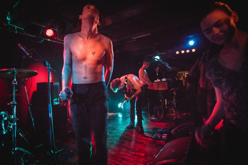 Fat White Family performing live at Loppen (photo: Morten Aagaard Krogh)