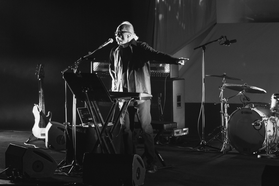 John Carpenter performing live at DR Koncerthuset