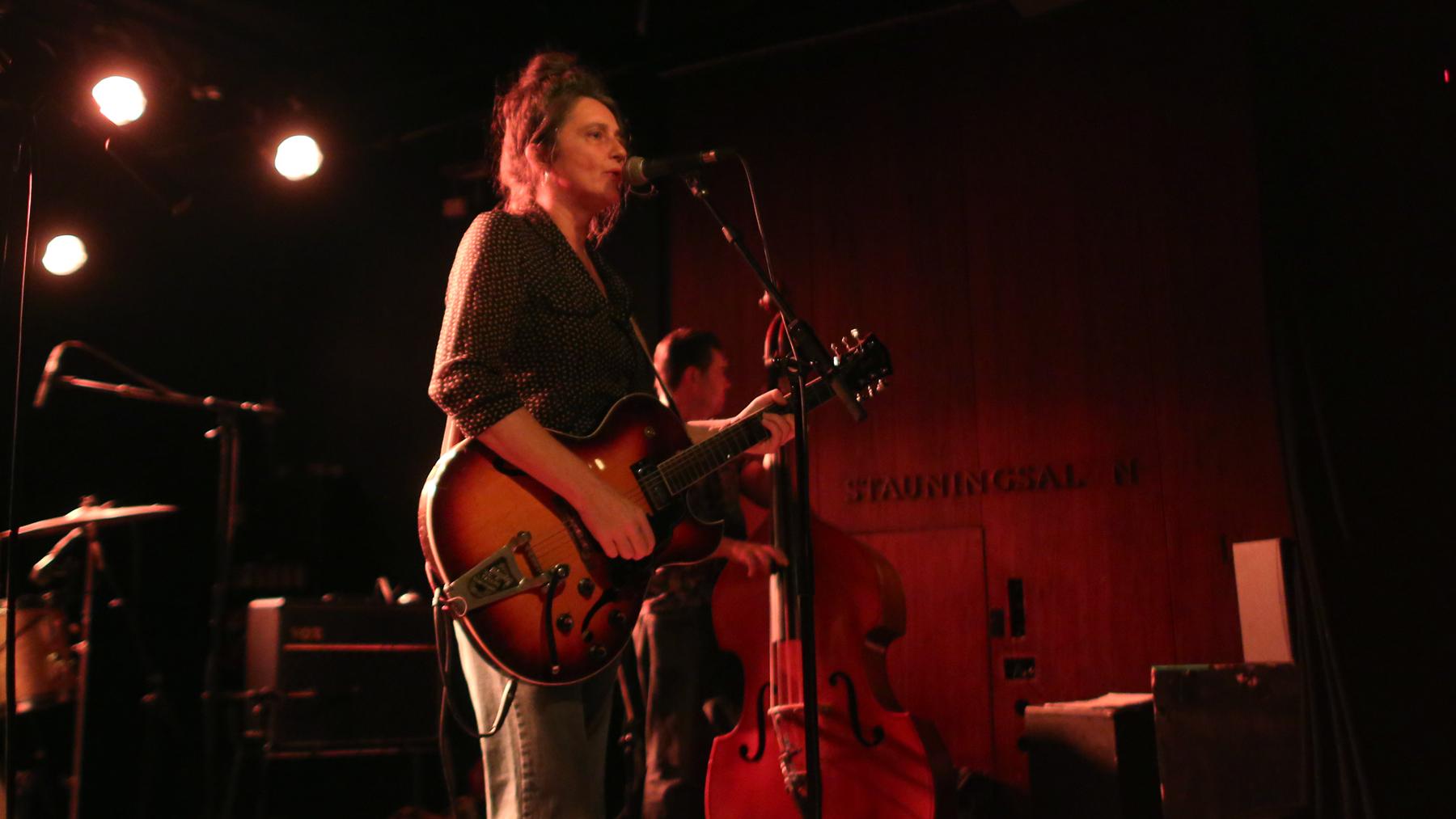 Musician Holly Golightly live in Copenhagen
