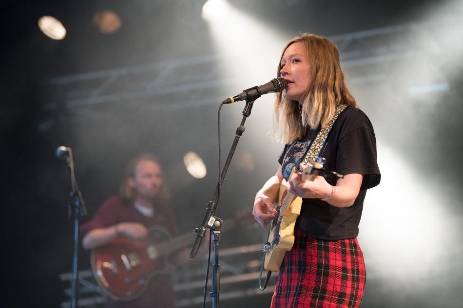 Julia Jacklin live Roskilde Festival 2017