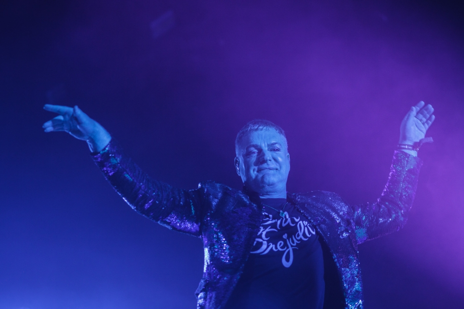 Erasure live at Roskilde Festival