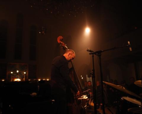 The Necks live at Brorsons Kirke in Copenhagen