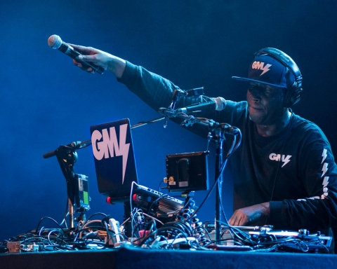 Grandmaster Flash live in Copenhagen at Amager Bio
