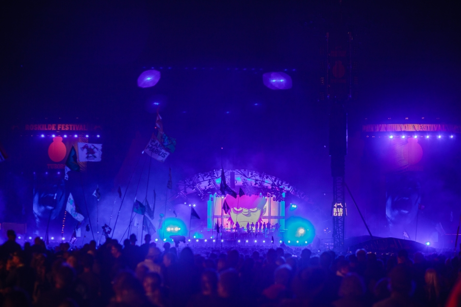 Gorillaz live at Roskilde Festival 2018