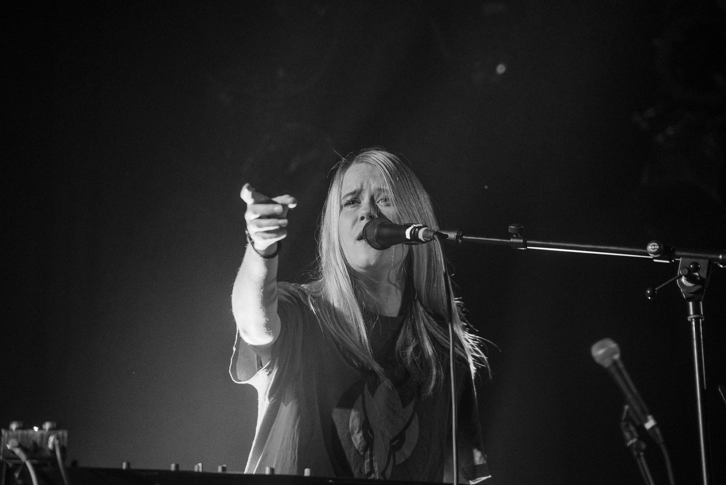 Anna von Hausswolff live at Pumpehuset Copenhagen