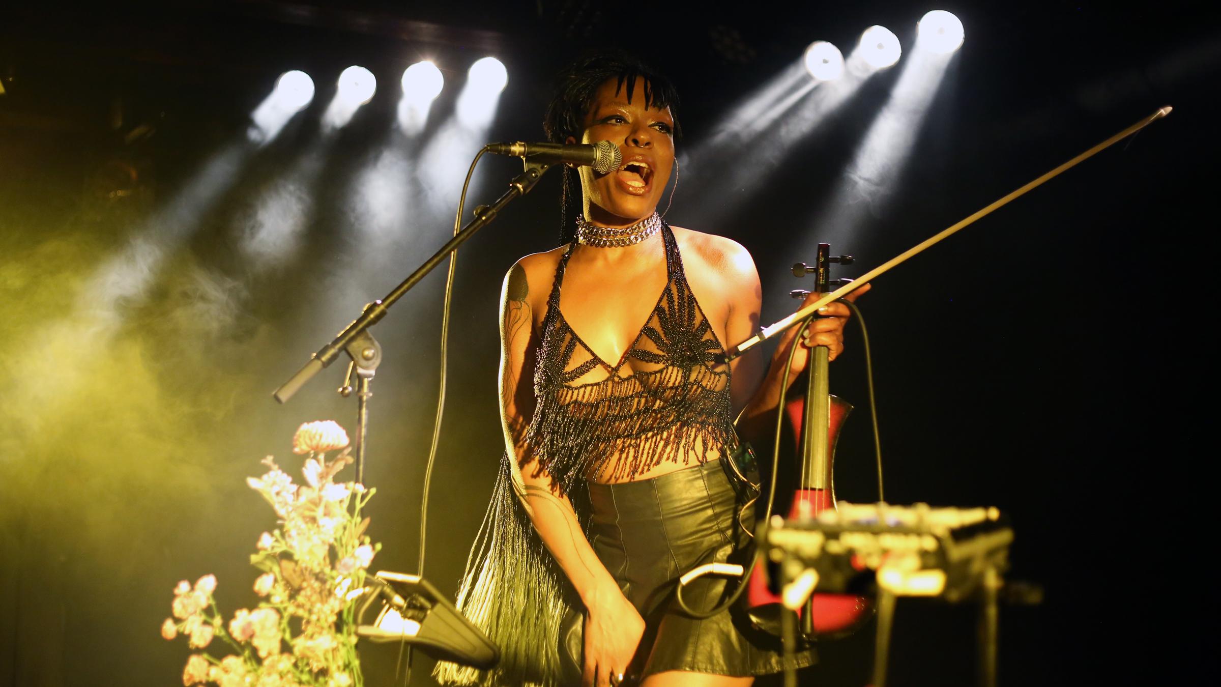 Sudan Archives live at Loppen for Copenhagen Jazz Festival