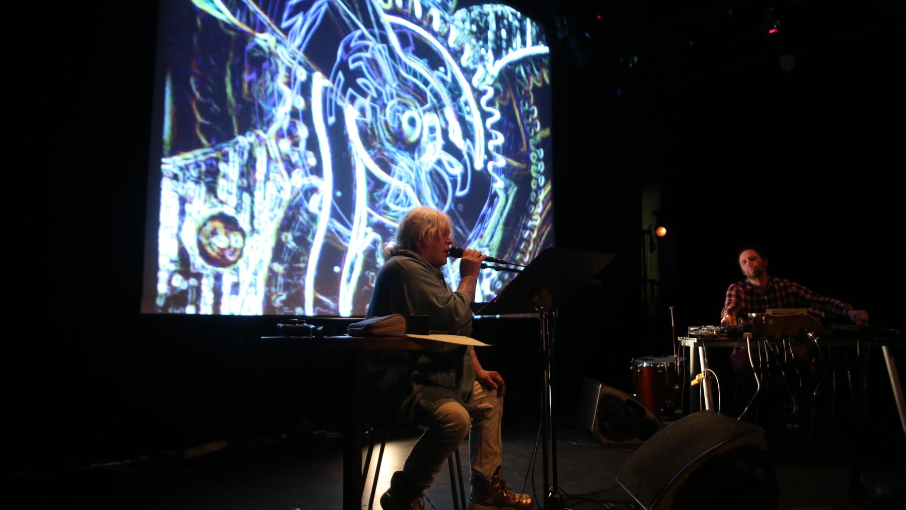 genesis p-orridge live jazzhouse copenhagen