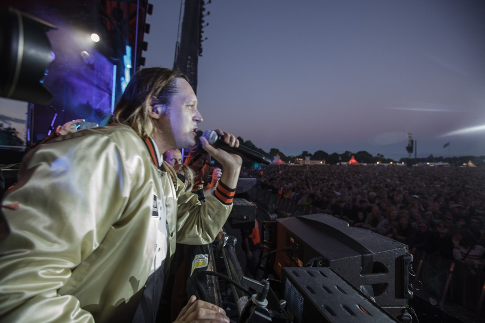 Arcade Fire live at Roskilde 2017