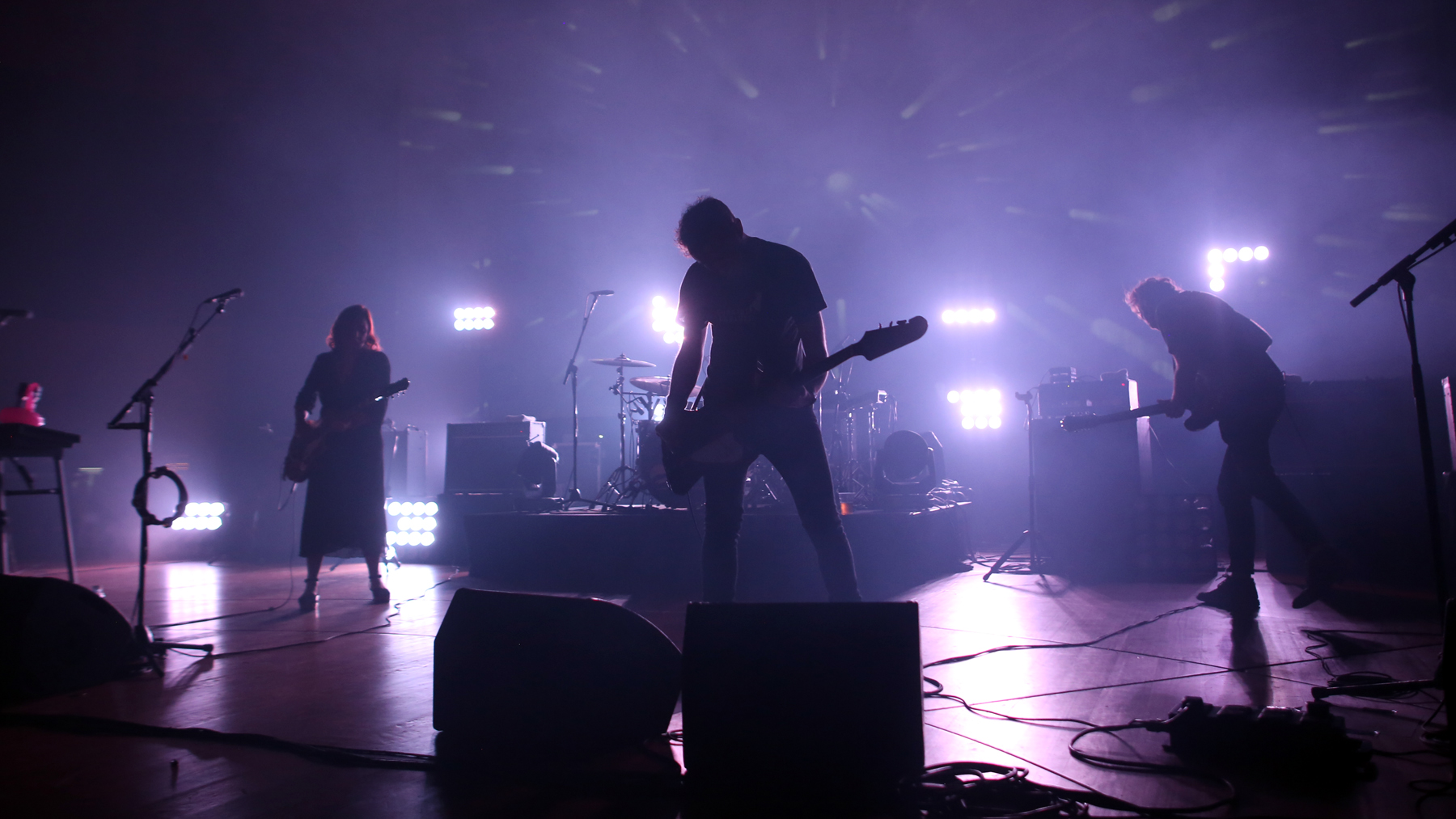 Slowdive live at DR Studie 2 in Copenhagen