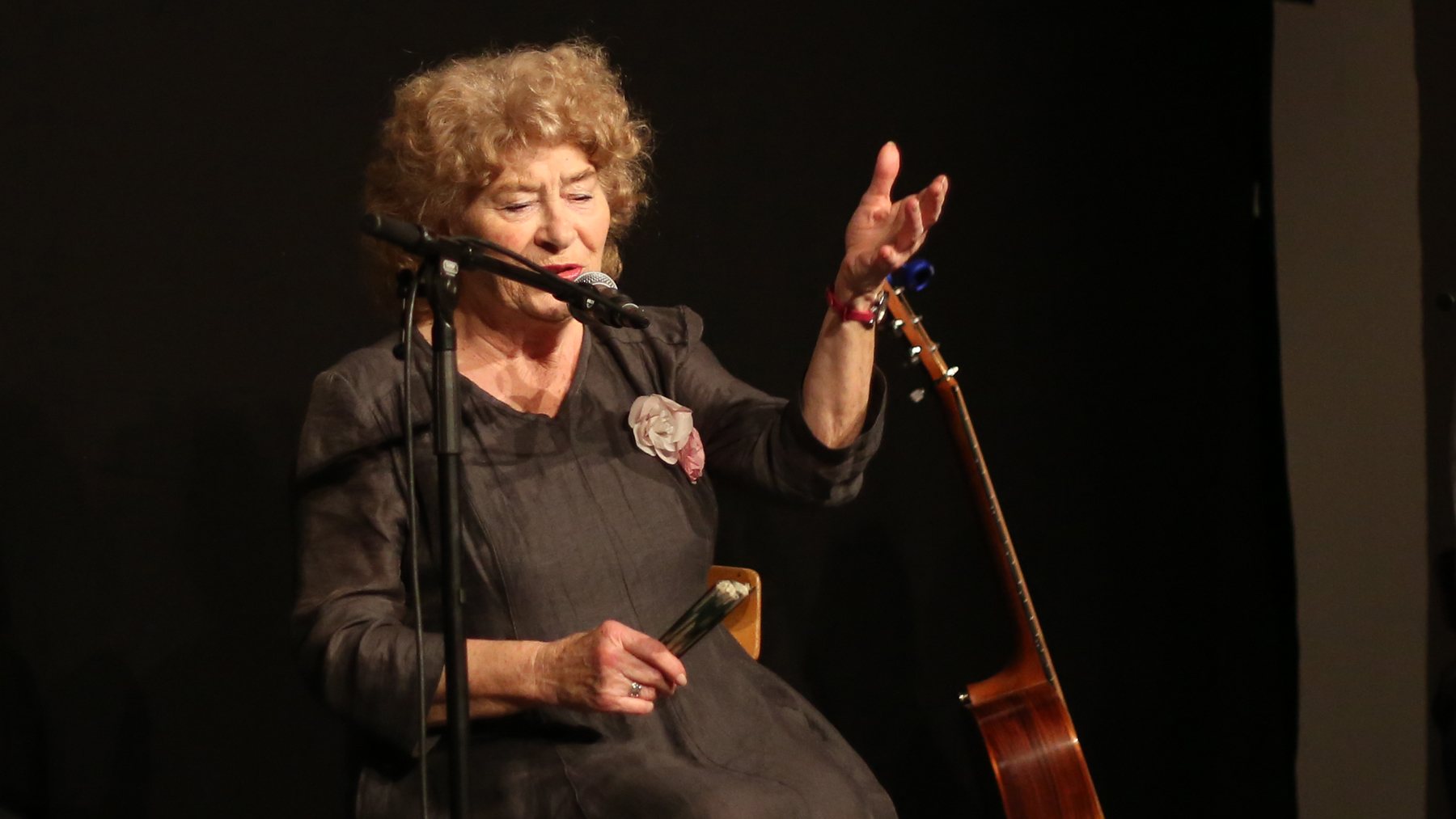 Shirley Collins live at her first ever Danish concert at Kunsthal Charlottenborg for CPH:DOX