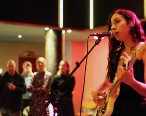 Marissa Nadler live at Ideal Bar in Copenhagen