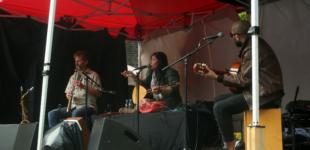 Kurdish musician Mizgin performs at Alice Copenhagen as part of their summer concert series.
